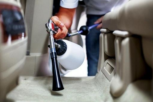Как делается химчистка автомобиля